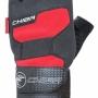 """Перчатки д/фитнеса """"Wristguard"""", чёрный/красный """"CHIBA"""" 40128"""